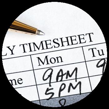 Timesheet-minimize-overtime